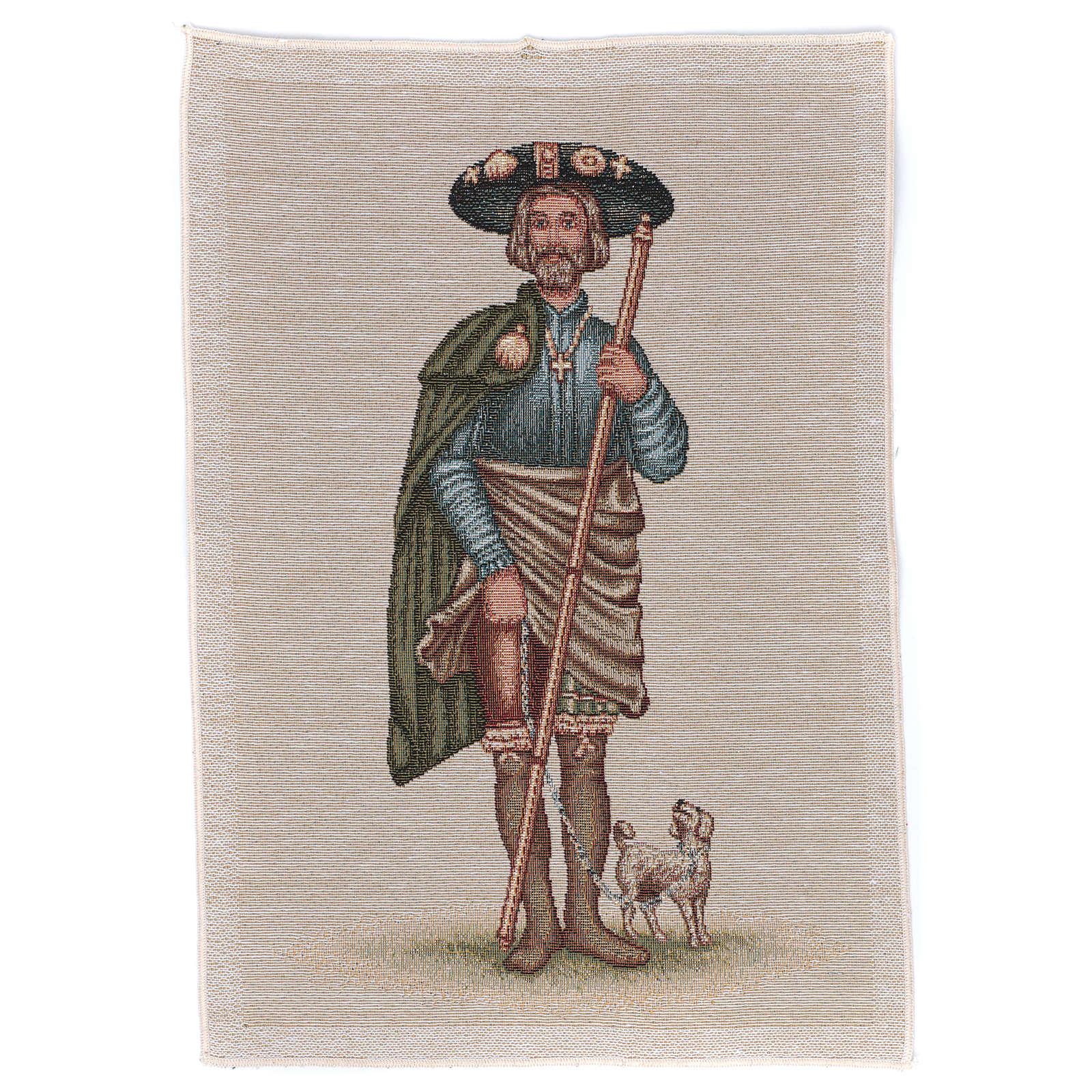 Tapisserie Saint Roch 40x30 cm 3