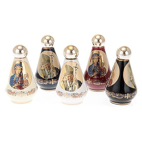 Weihwasserfläschchen aus Keramik, sortiert 1