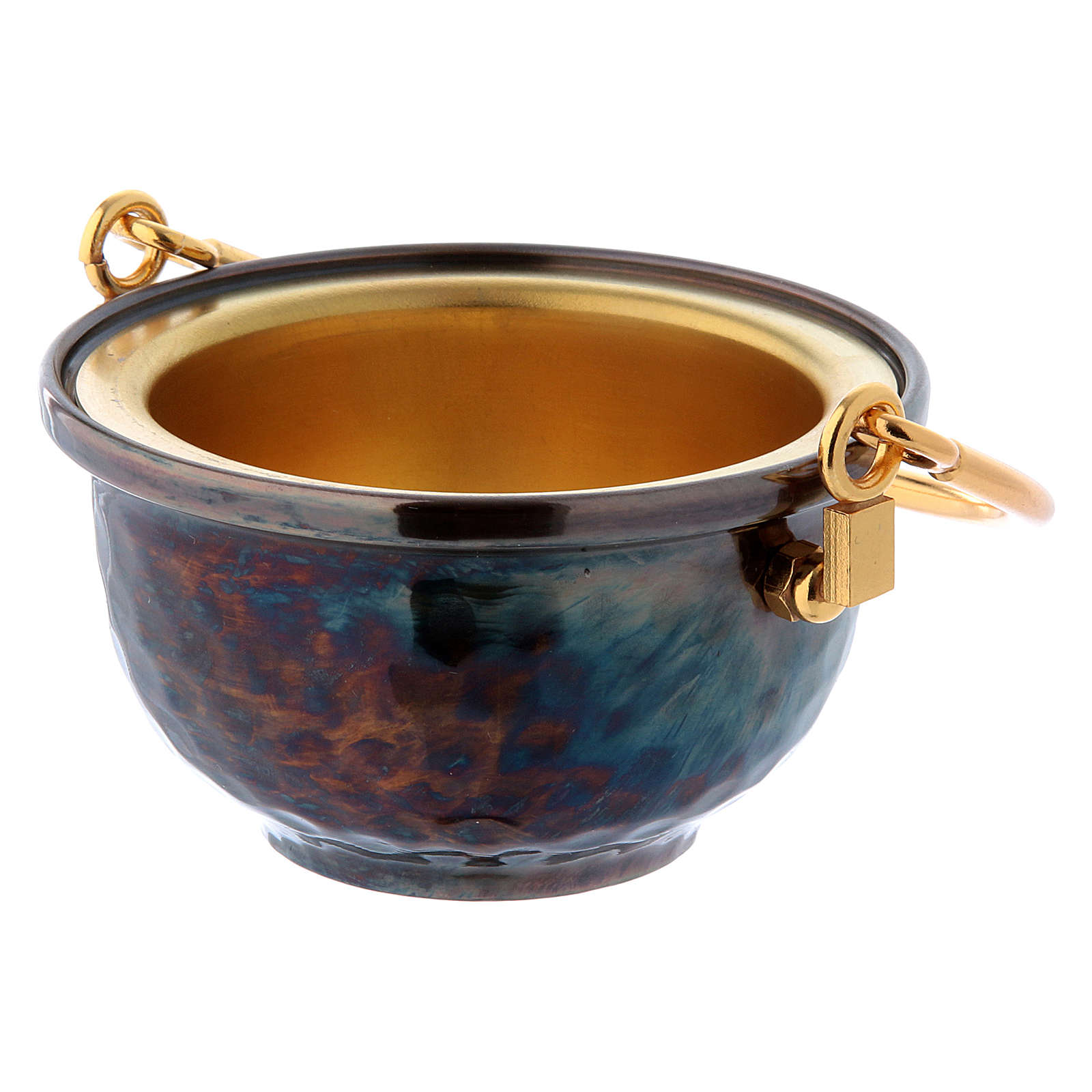 Holy water pot in brass 3