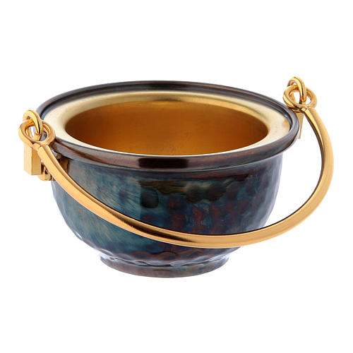 Holy water pot in brass 1