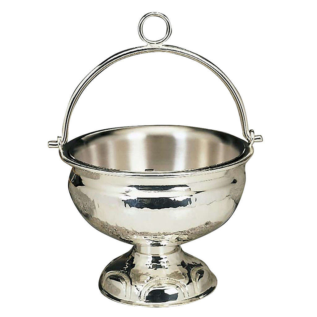 Holy water pot silver or golden plated 3