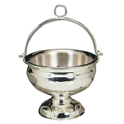 Holy water pot silver or golden plated 1