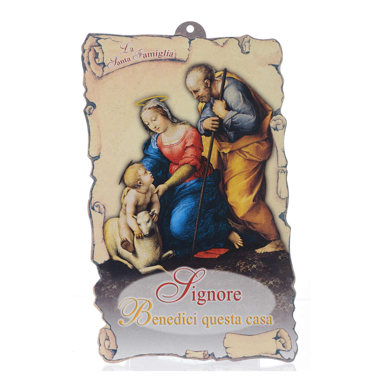 Benedizione pasquale: Sacra Famiglia con preghiera (100 pz.) 3