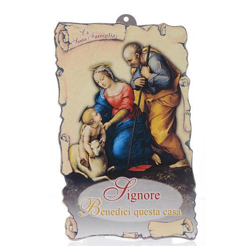 Benedizione pasquale: Sacra Famiglia con preghiera (100 pz.) 1