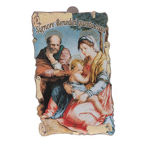 Benedizione case: Sacra Famiglia con preghiera (100 pz.) 1