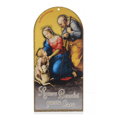 Benedizioni pasquali: Sacra Famiglia con preghiera (100 pz.) 1