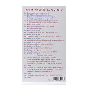 Benedizione pasquale: Santa Rita con preghiera (100 pz.) s2