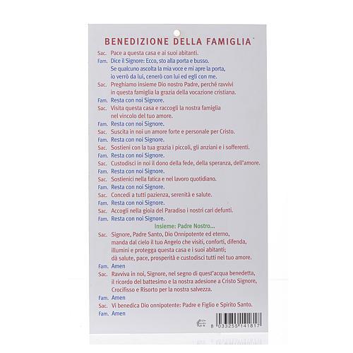 Benedizione pasquale: Santa Rita con preghiera (100 pz.) 2