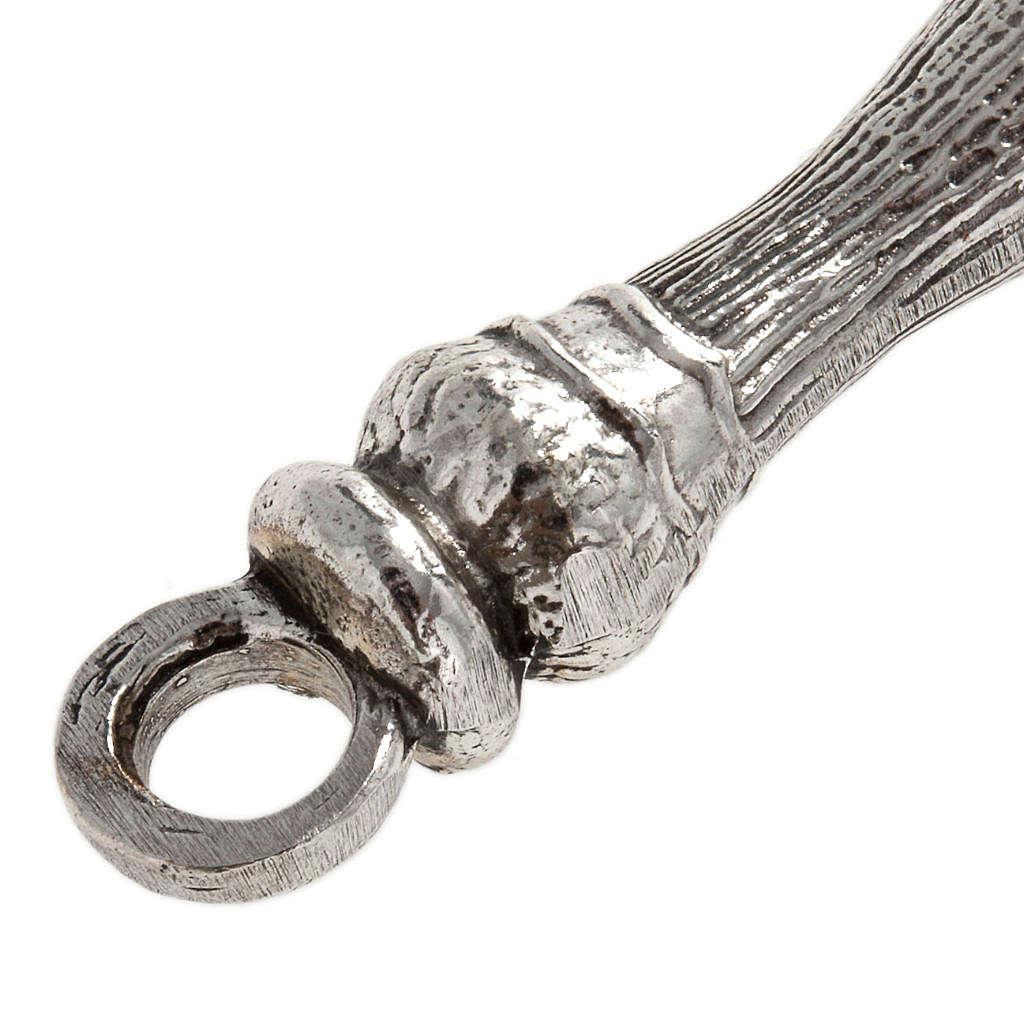 Aspersorium in silver brass 3