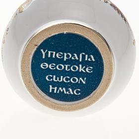 Bottiglietta per acqua santa ceramica Madonna s3
