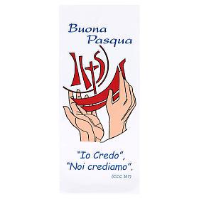 Busta per le Palme porta ulivo 200 pz Buona Pasqua s1