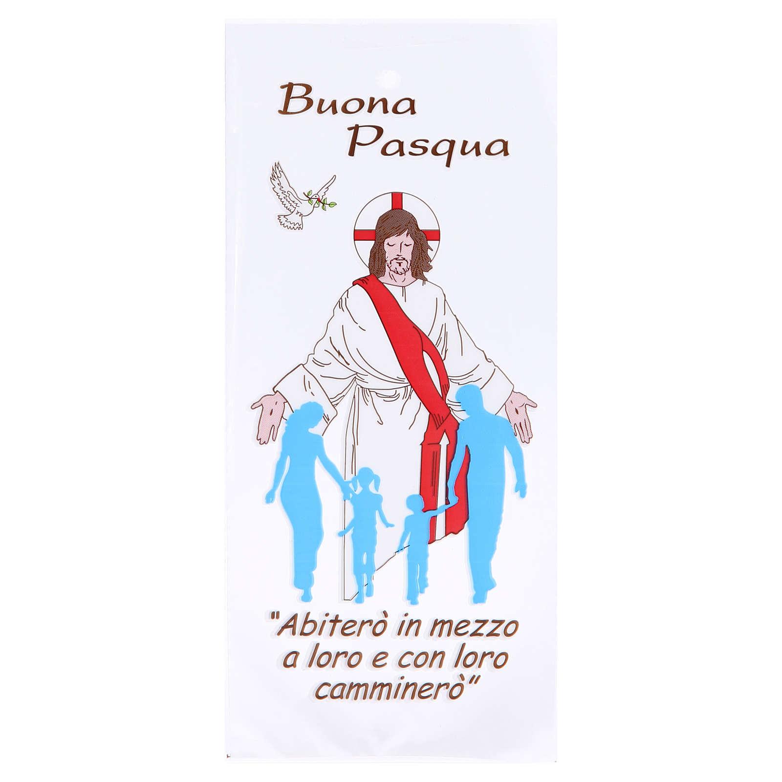 Busta Domenica delle Palme olivo 500 pz Buona Pasqua 3