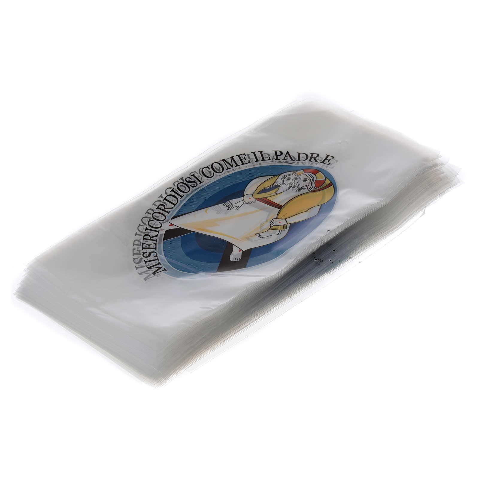STOCK Busta per Palme ulivo 500 pz logo Giubileo Misericordia 3