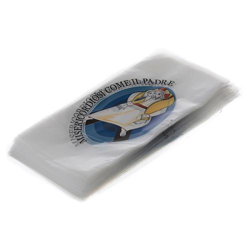 STOCK Busta per Palme ulivo 500 pz logo Giubileo Misericordia 2