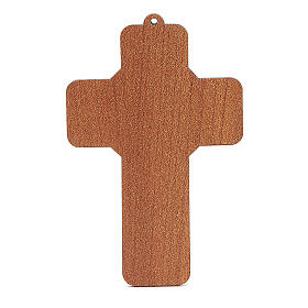 Cross in PVC with Holy Family s2