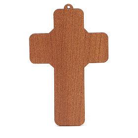 Benedizione delle Famiglie con croce pvc Sacra Famiglia s2