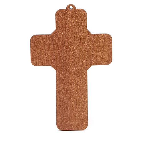 Benedizione delle Famiglie con croce pvc Sacra Famiglia 2