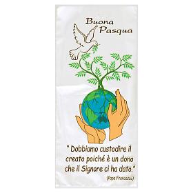 Akcesoria do błogosławieństwa: Torebka na gałązkę palmową palemkę Pokój na Świecie 500 szt.