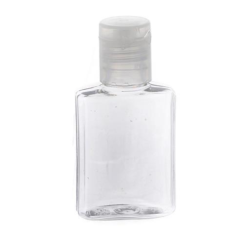 Botella para agua bendita plástico transparente 1
