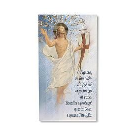 Estampa Bendición de las casas Resurrección de Jesucristo ITALIANO s1