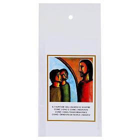 Bustina Domenica delle Palme per ulivo Sinodo Giovani 200 pz s1
