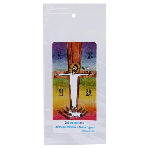 Busta porta olivo Domenica delle Palme Cristo Risorto 200 pz 1