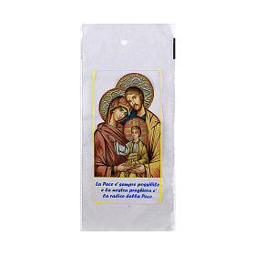 Palm Sunday palm strip bag with Holy Family 200 pieces s1