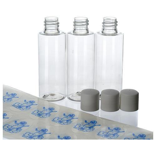 Botellas PVC para Agua Bendita 100 piezas (caja) 50 ml 2