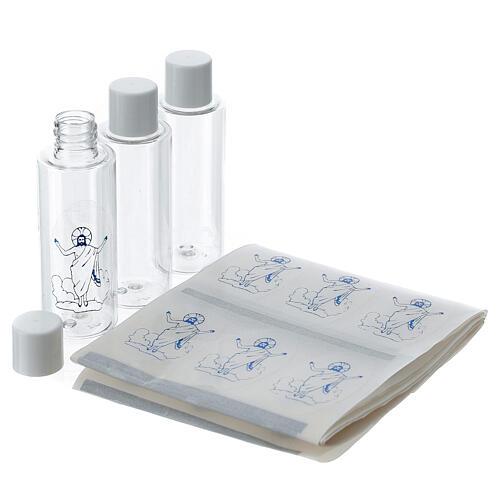 Holy water bottles, 100 pack 50 ml 2
