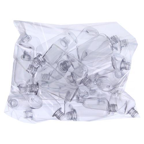 Garrafinhas para Água Benta transparentes 75 ml (EMBALAGEM DE 100 PEÇAS) 2