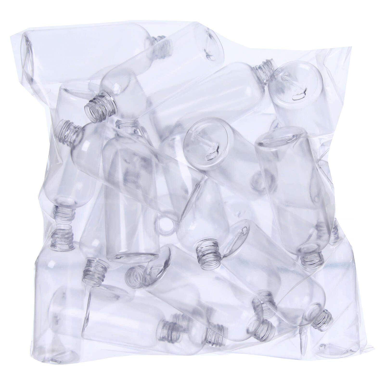 Garrafinhas para Água Benta cilíndricas 100 ml (EMBALAGEM DE 100 PEÇAS) 3