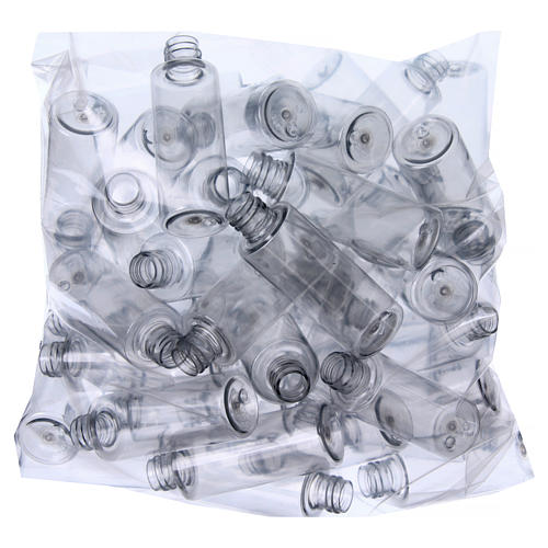 Holy water bottles, cylindrical 55 ml 100 pcs set 2