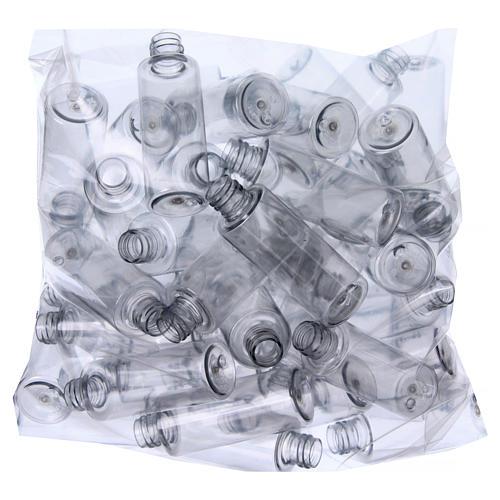 Garrafas para Água Benta cilíndricas 55 ml caixa 100 unidades 2