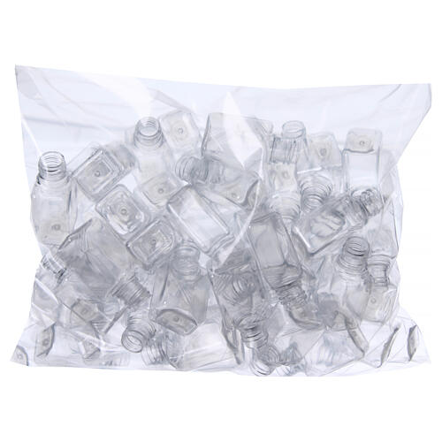 Garrafinhas para Água Benta plástico transparente capacidade 30 ml (EMBALAGEM DE 100 PEÇAS) 2