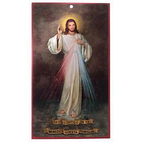 Benedizioni: pergamena Gesù Misericordioso (100 pz.) s1