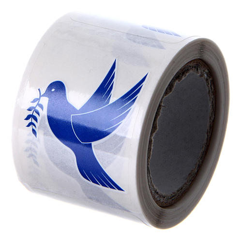 Dove Holy Water Sticker, 100 pieces 2