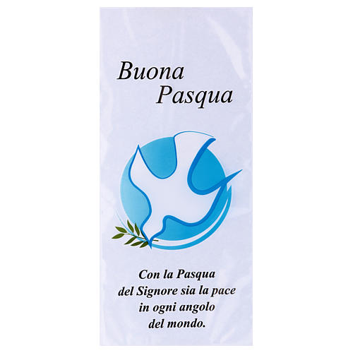 Palm Sunday bag with dove and olive tree branch 500 pieces 1