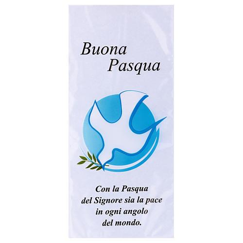 Busta Domenica delle Palme colomba con olivo 500 pz 1