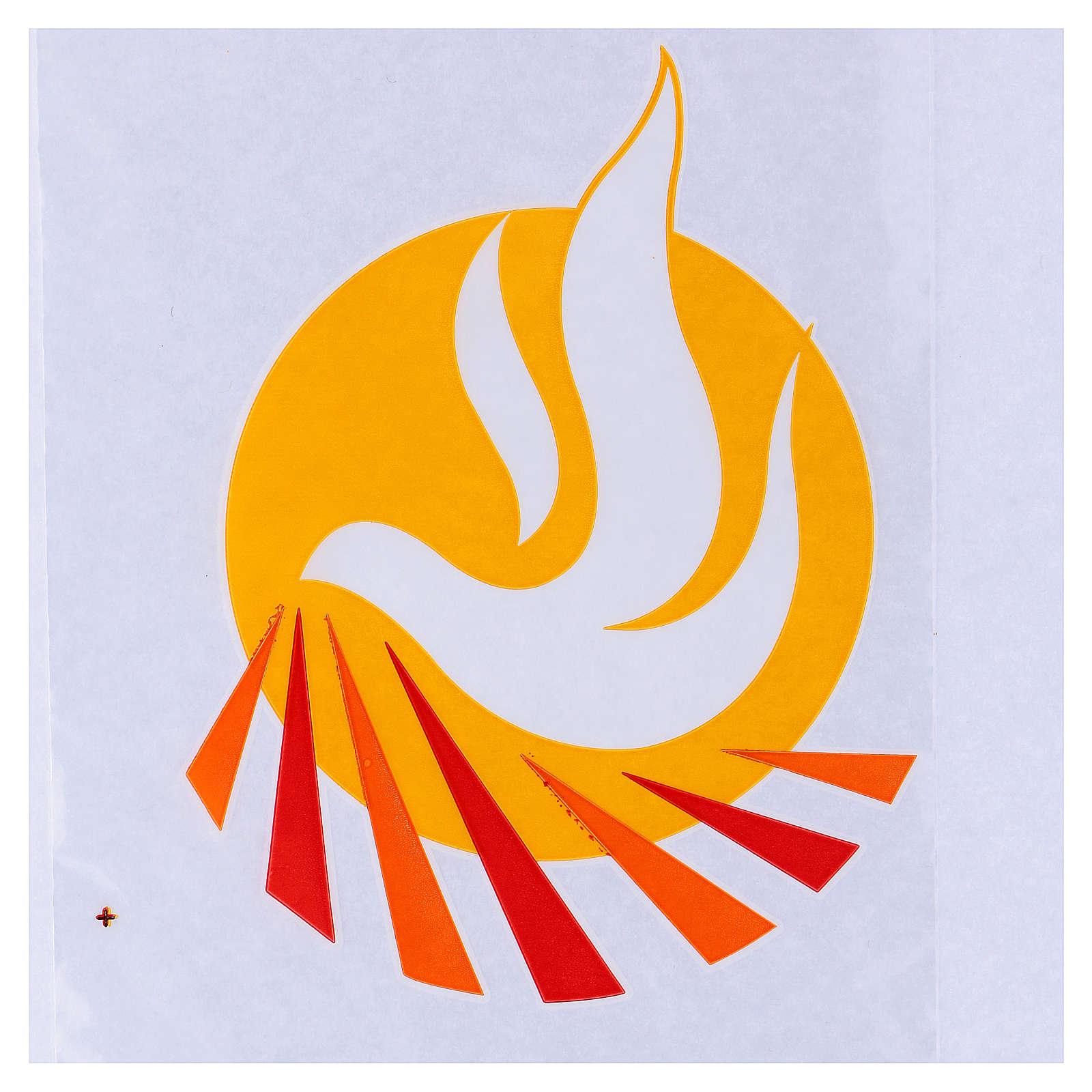 Palmzweig-Schutzhüllen, Motiv Friedenstaube, 500 Stück 3