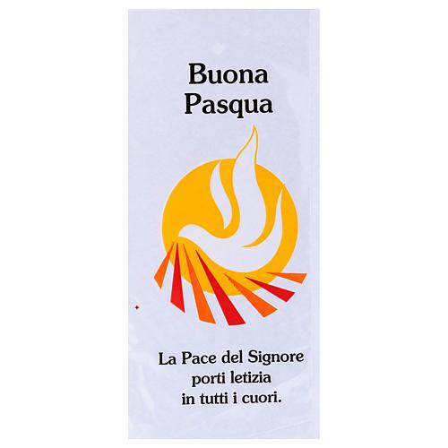 Palmzweig-Schutzhüllen, Motiv Friedenstaube, 500 Stück 1