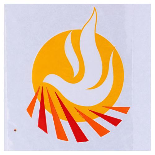 Palmzweig-Schutzhüllen, Motiv Friedenstaube, 500 Stück 2