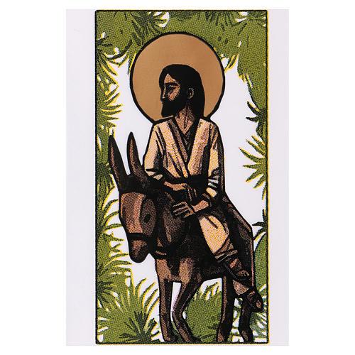 Sobre para olivo Domingo de Ramos Entrada en Jerusalén 200 piezas 2