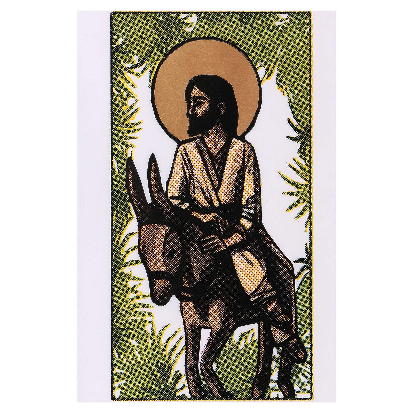 Torebka na gałązki oliwne Niedziela Palmowa Wjazd do Jerozolimy 200 szt 3