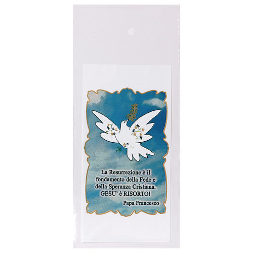 Bag for olive tree branch for Palm Sunday with Dove of Peace 200 pieces 1