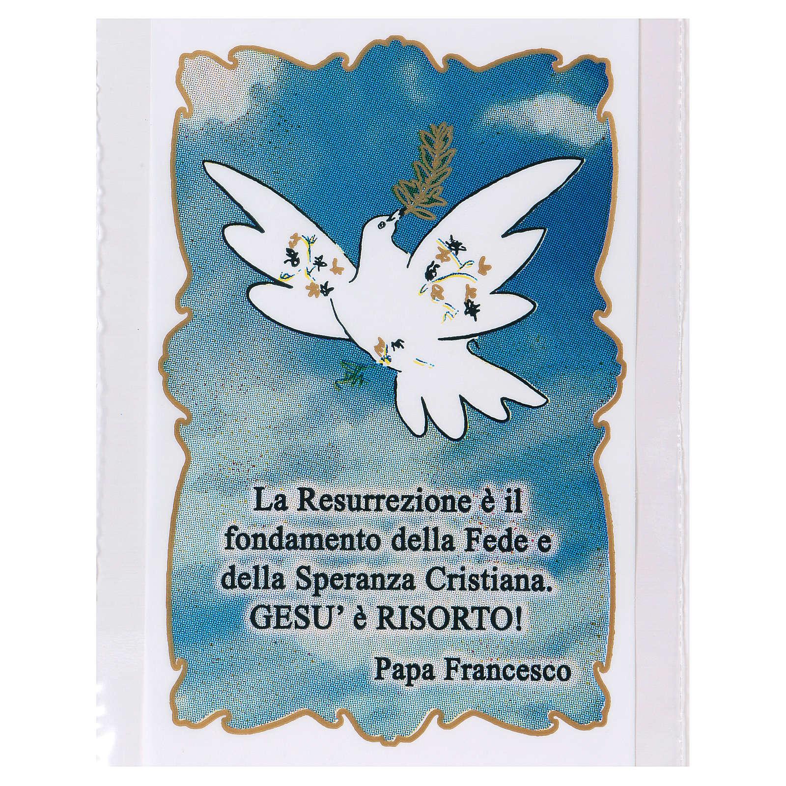 Sobre para olivo Domingo de Ramos Paloma de la Paz 200 piezas 3