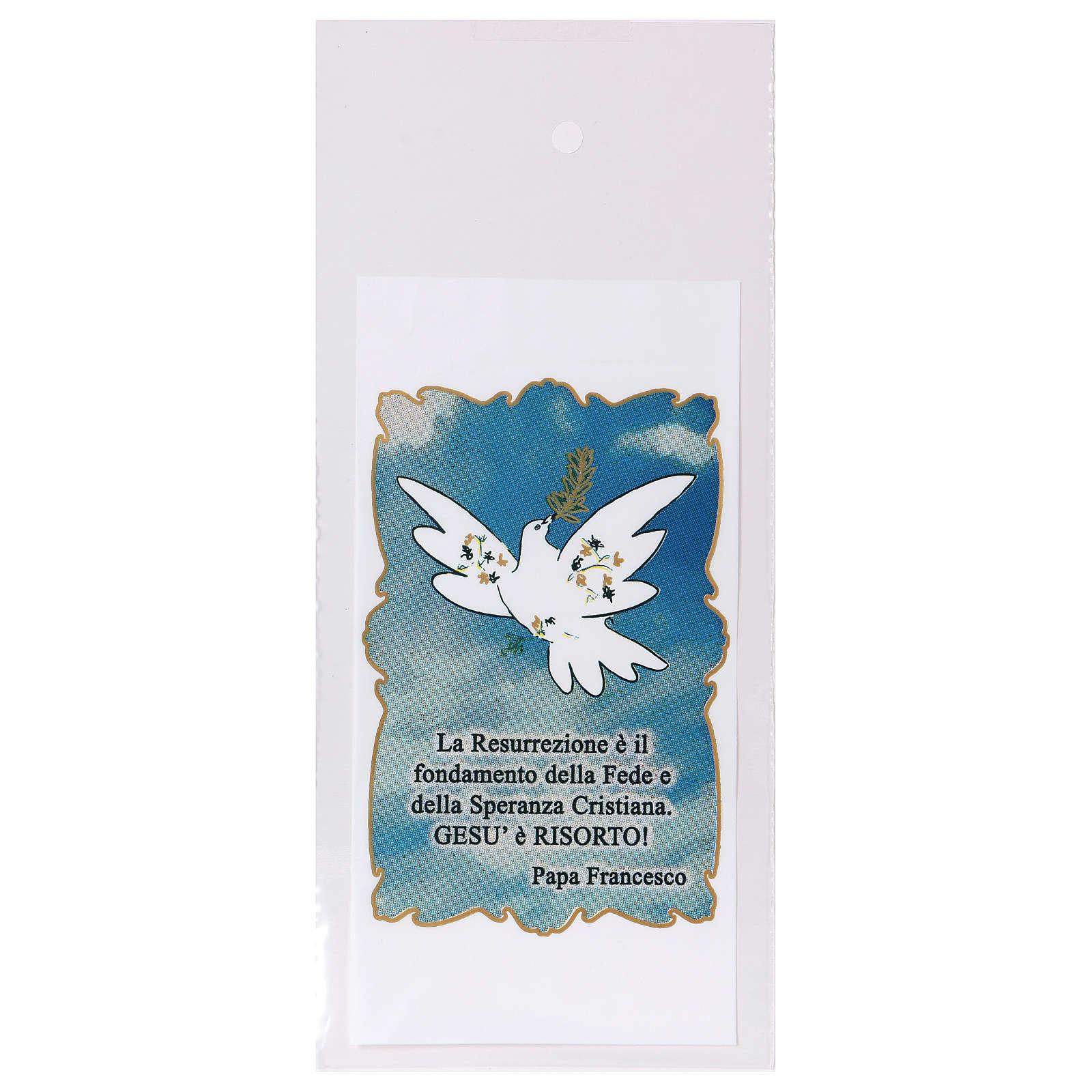 Busta porta olivo Domenica delle Palme Colomba della Pace 200 pz 3
