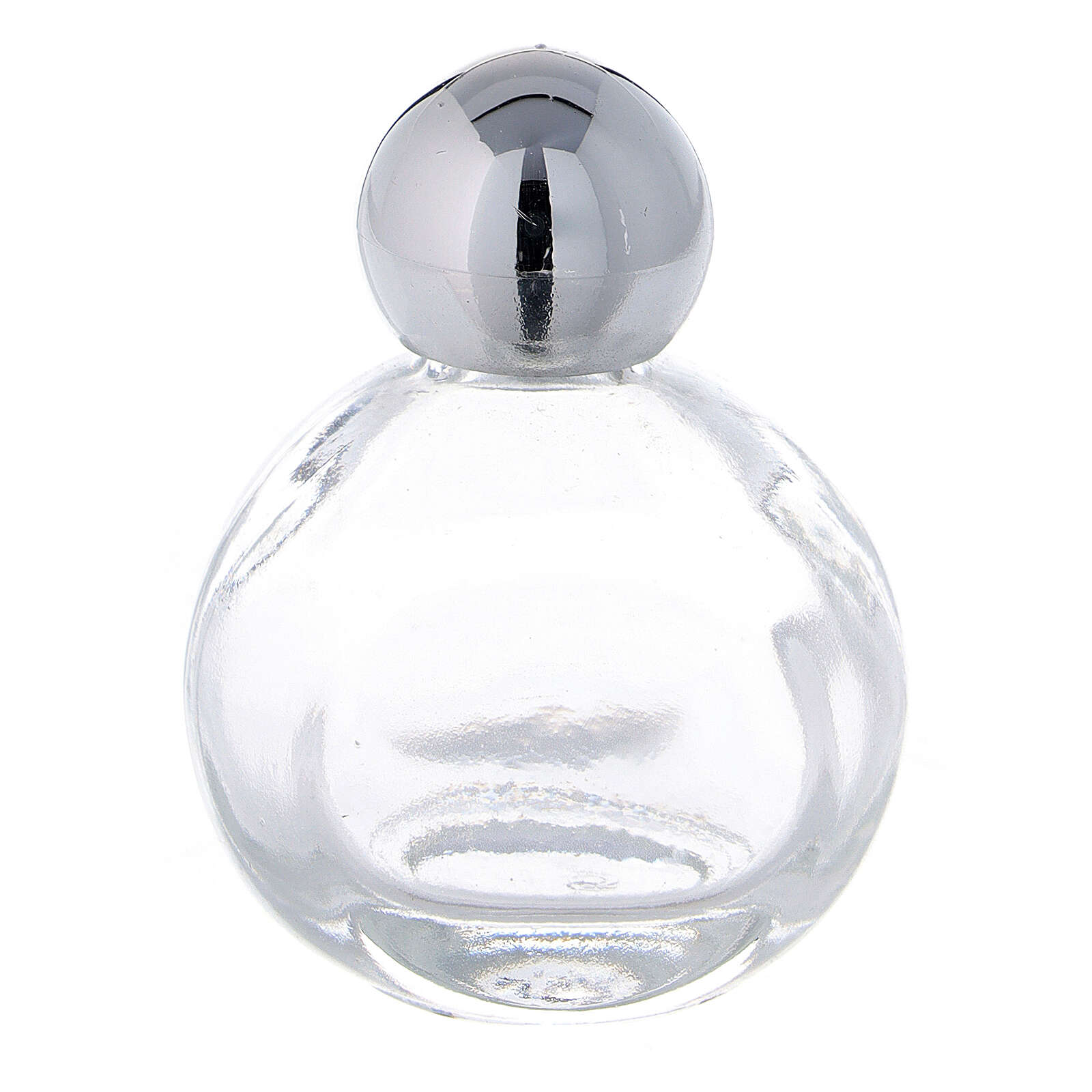 15 ml holy water glass bottle with silver plastic cap (50-PIECE PACK) 3