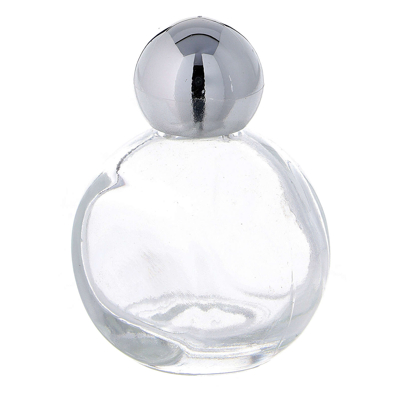 Holy water bottle 15 ml in glass with silver cap (50 pcs pk) 3