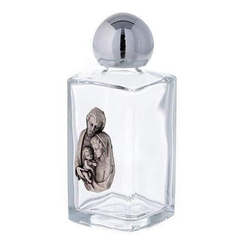Buteleczka na wodę święconą Święta Rodzina 50 ml (op. 50 sztuk) szkło 2