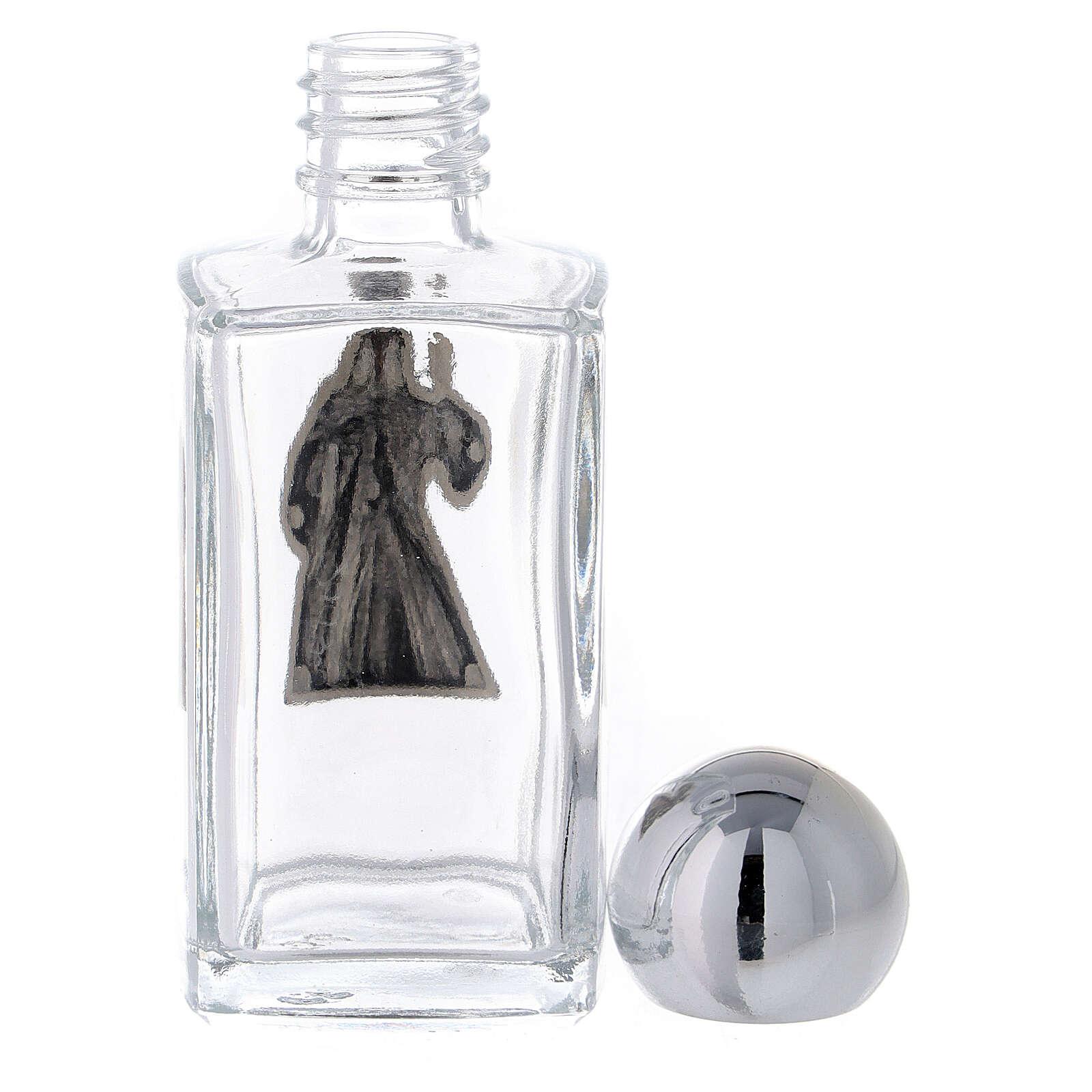 Botella agua bendita Jesús Misericordioso 50 ml (50 PIEZAS) vidrio 3